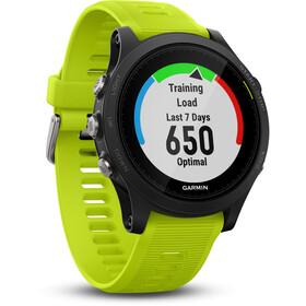 Garmin Forerunner 935 GPS Triathlonuhr Bundle black/yellow